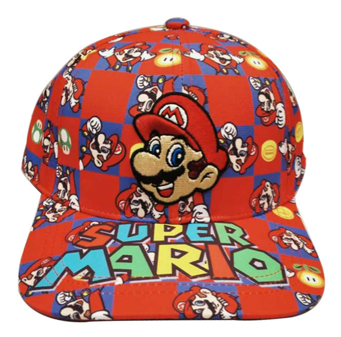 10 colors Super Mario Cosplay Props Sonic Baseball Hat Mario Bros Cosplay Cap Game Super Mario Hat Adult Kids Cosplay Caps