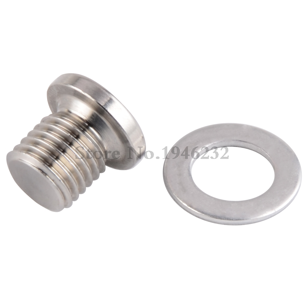 Motorcycle Magnetic Oil Drain Plug Bolt for Polaris Sportsman570 ACE325 14-16