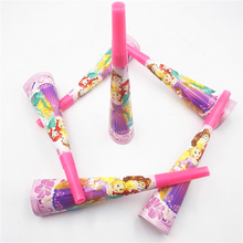 6pcs/set Ariel/Snow White/Belle/Cinderella/Jasmine/Aurora Six Princess Party Supplies Decoration Favors horn trumpet noise make