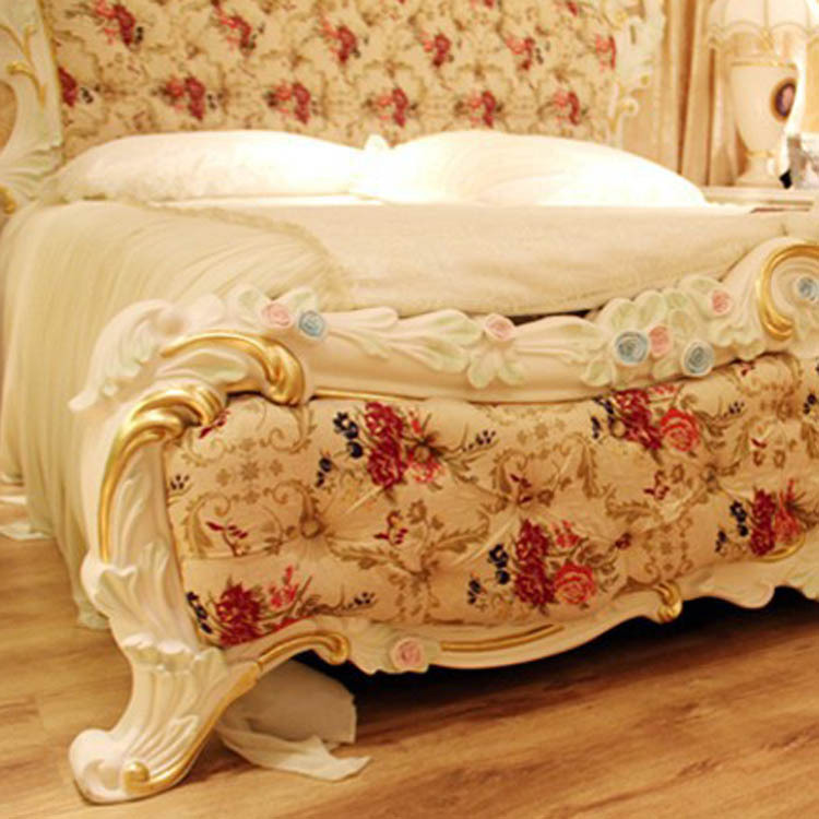 11.11 Big Deal Aliexpress Solid Wood Luxury Queen Size Bed 1.8M European  Style Furniture Bed Room  In Beds From Furniture On Aliexpress.com |  Alibaba Group