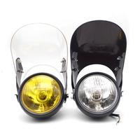 Motorcycle headlight motorcycle halogen headlight For yamaha ybr 125 husqvarna motocross foco moto accessories moto yamaha tw