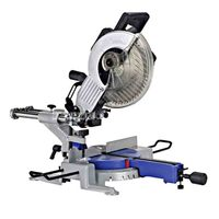 10 Inch Multi function Rod Saw Desktop Precision Aluminum Alloy Gear Drive 45 Degree Oblique Cutting Machine 220V 1800W 255MM