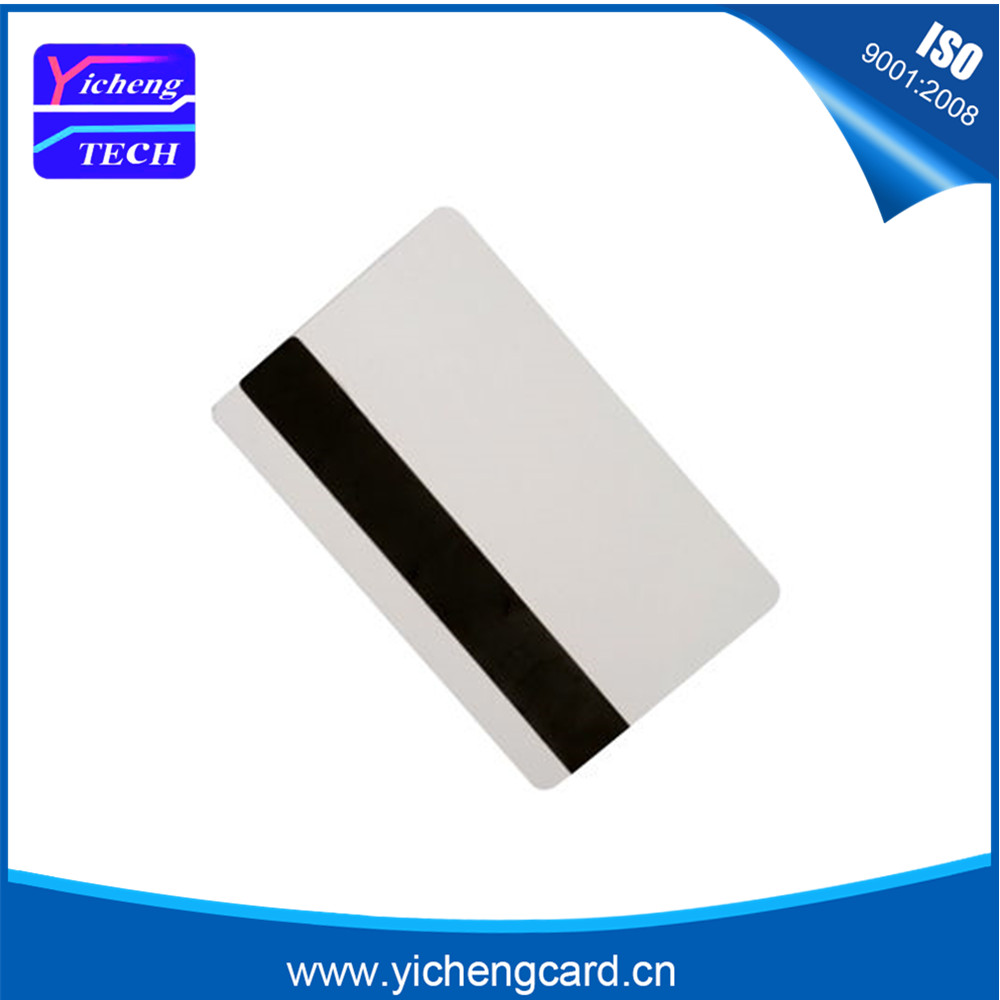 10pcs Blank White PVC Hico 1-3 magnetic stripe card Plastic Credit Card 30Mil Magnetic Card with printable for card printer 230pcs lot inkjet printable blank pvc card for epson printer canon printer credit card size
