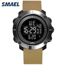 Digital Watches Men Stopwatch With 50M Water Resistant Rubber Bracelet Alarm Back Light Clock 1711 Men Sport Wrist Watch Digital стоимость
