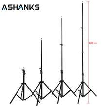 Yüksek Quanlity 240 cm 7.8ft PRO Işık Lambası Standı Tripod için Fotoğraf Stüdyosu Video Flaş Şemsiye Reflektör Aydınlatma Ücretsiz Nakliye