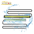 LVTUOSI Car-styling 14cm Waterproof Ultra-thin COB Chip LED Daytime Running Light DIY DRL LED Light Lamp Source Car Styling BE