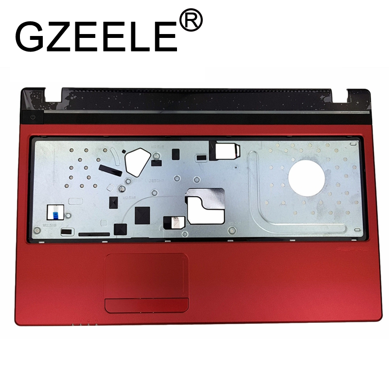 GZEELE New For Acer Aspire 5560 5560G MS2319 Laptop upper case palmrest keyboard bezel without touchpad cover