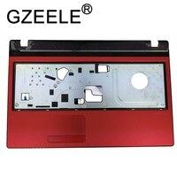 Gzeele novo para acer aspire 5560 5560g ms2319 portátil caso superior teclado palmrest bezel sem touchpad capa