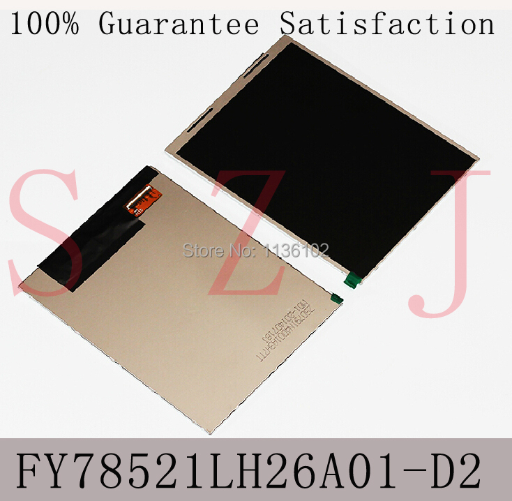 (Ref:FY78521LH26A01-D2) 7.85 inch LCD screen display LCD digitizer tablet PC MID Free shipping