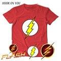 3kinds design Superhero the Flash T-Shirt The Big Bang Theory Sheldon Cooper Cosplay Cotton T Shirts Men Women Geek O Neck Top