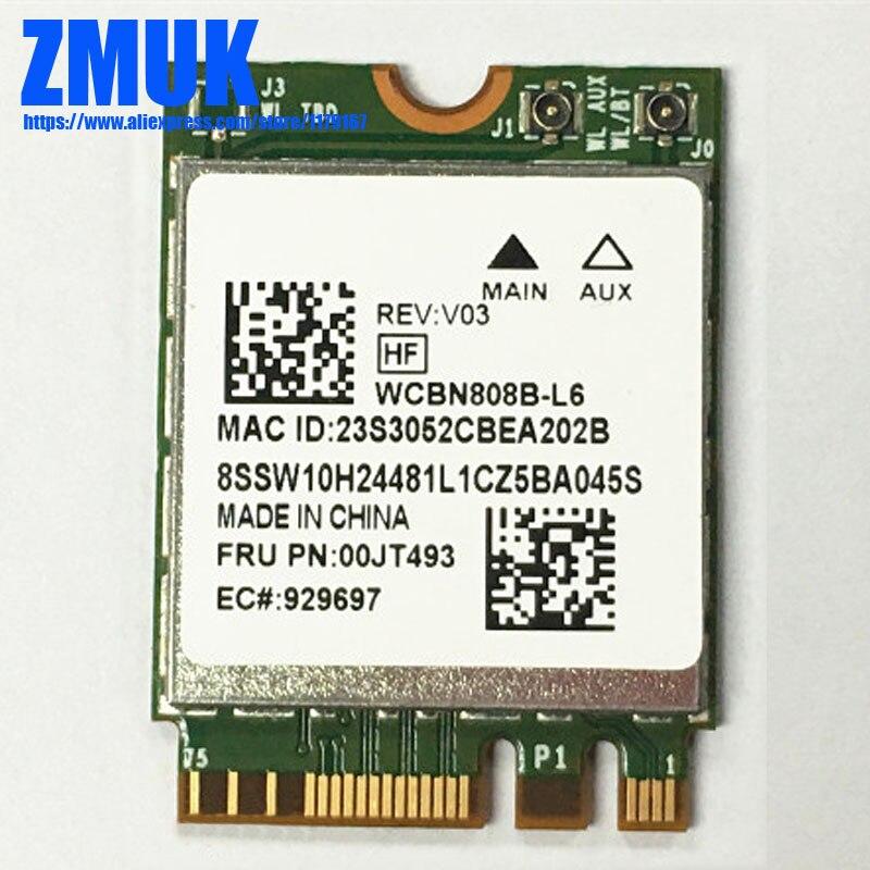 BCM4350 2*2ac+BT4.0 PCIE M.2 Combo Card For Lenovo MIIX 510 700 Y700 Y900 YOGA 500 700 710 900 900S Series,FRU 00JT493 SW10H2448 bluetooth keyboard for lenovo miix 300 10 8 miix 310 320 tablet pc wireless keyboard miix 4 5 pro miix 700 miix 510 720 case