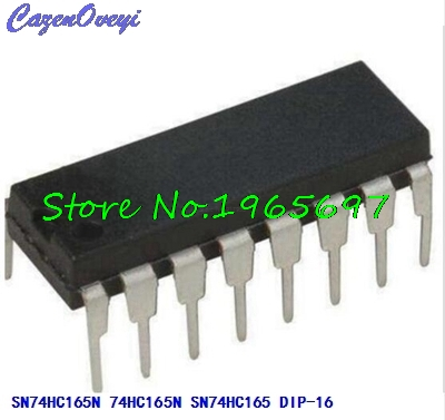 10pcs/lot SN74HC165N SN74HC165 74HC165N DIP-16 New Original In Stock