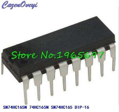 10pcs/lot SN74HC165N SN74HC165 74HC165N DIP-16 New Original In Stock