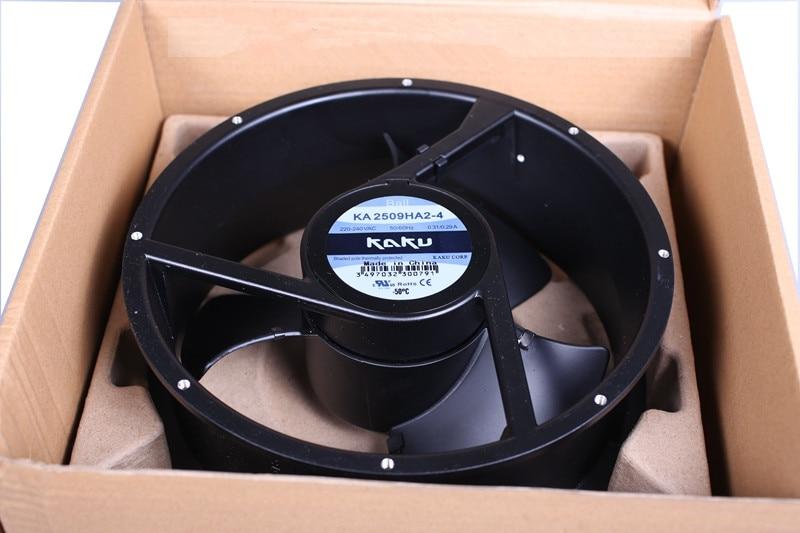 New For KA2509HA2-2 High temperature resistance Axial flow FAN AC220-240V 254*89MMNew For KA2509HA2-2 High temperature resistance Axial flow FAN AC220-240V 254*89MM