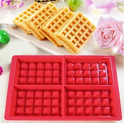 Silicone Cake Mould Waffle Makers for Kids Silicone Bakeware Set Nonstick Silicone Baking Mold Set