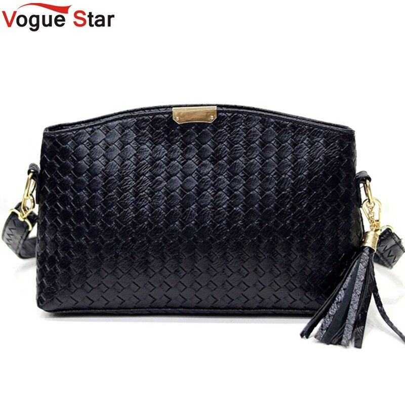 Vogue star moda pequeña bolsa de mensajero de las mujeres bolsos de cuero suave