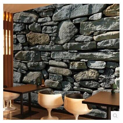 3d stereoskopischen mauer muster wandbild tapete stein. Black Bedroom Furniture Sets. Home Design Ideas