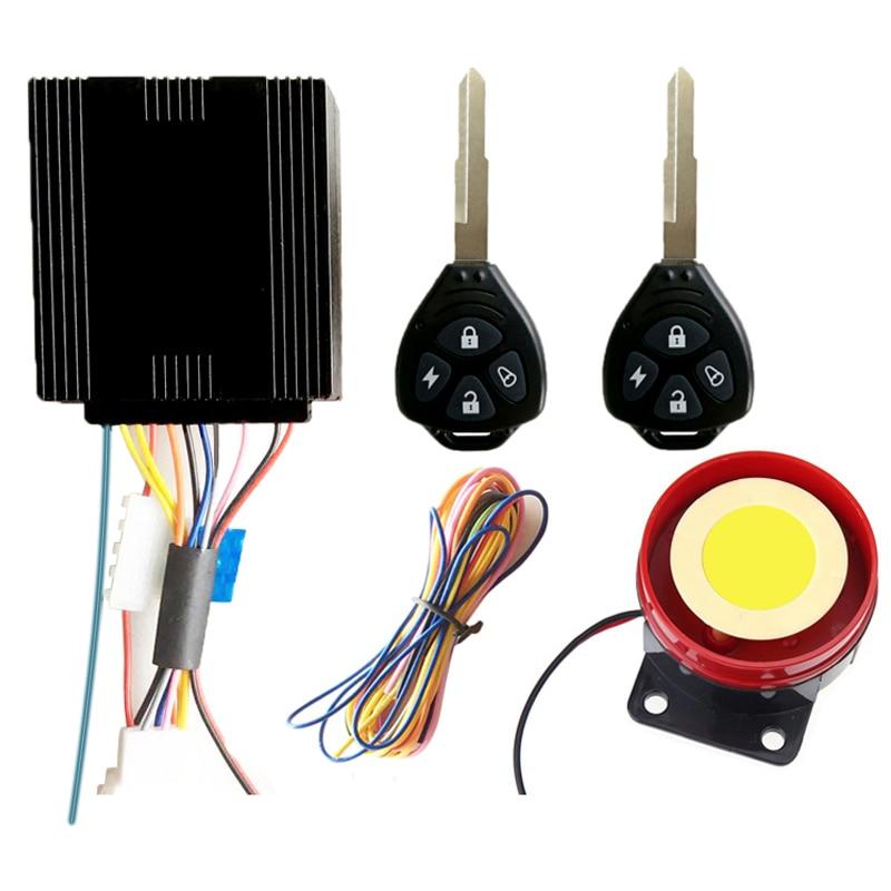 Motorcycle Anti-Theft Remote Protection Alarm Bicycle Alarm System Remote Alarm