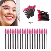 Eyelash Extension Disposable Eyebrow brush Mascara Wand Applicator Spoolers Eye Lashes Cosmetic Beauty Makeup Brushes Tool