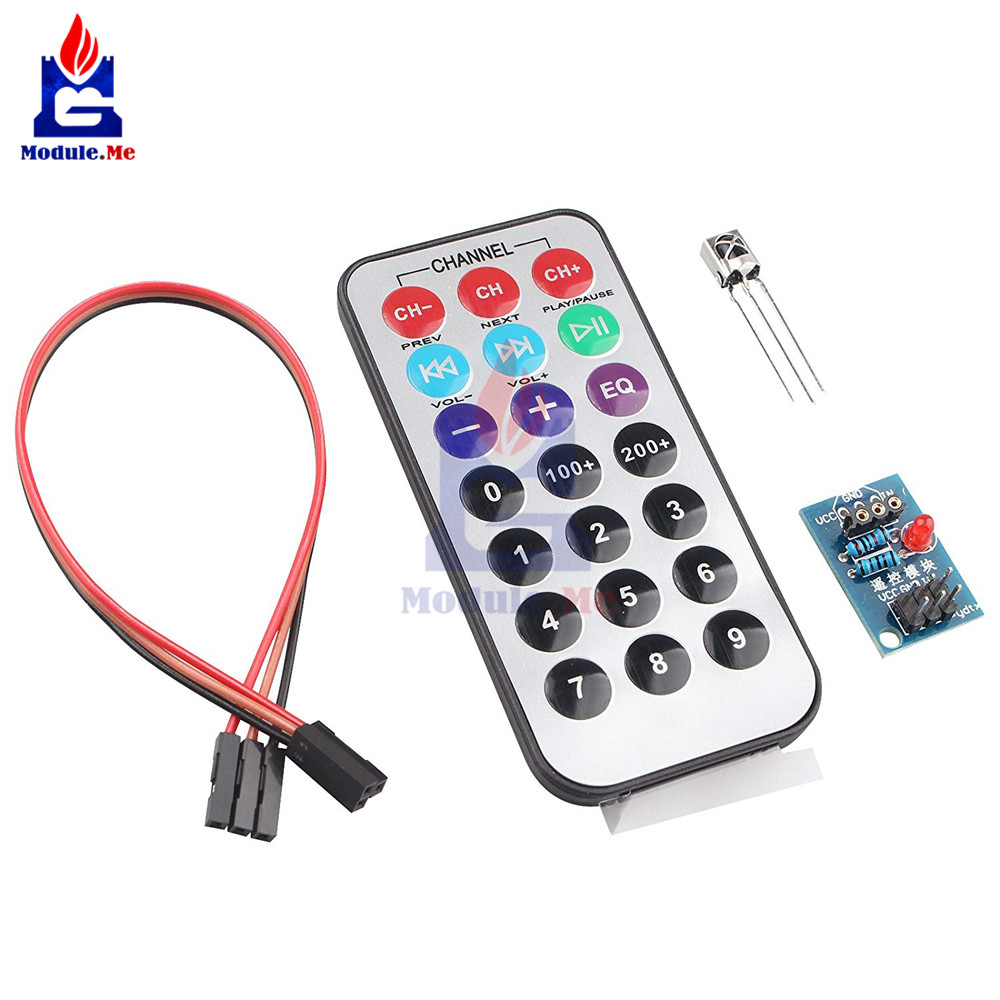 12V Infrared Switch Relay Module and Remote Arduino Flux Workshop