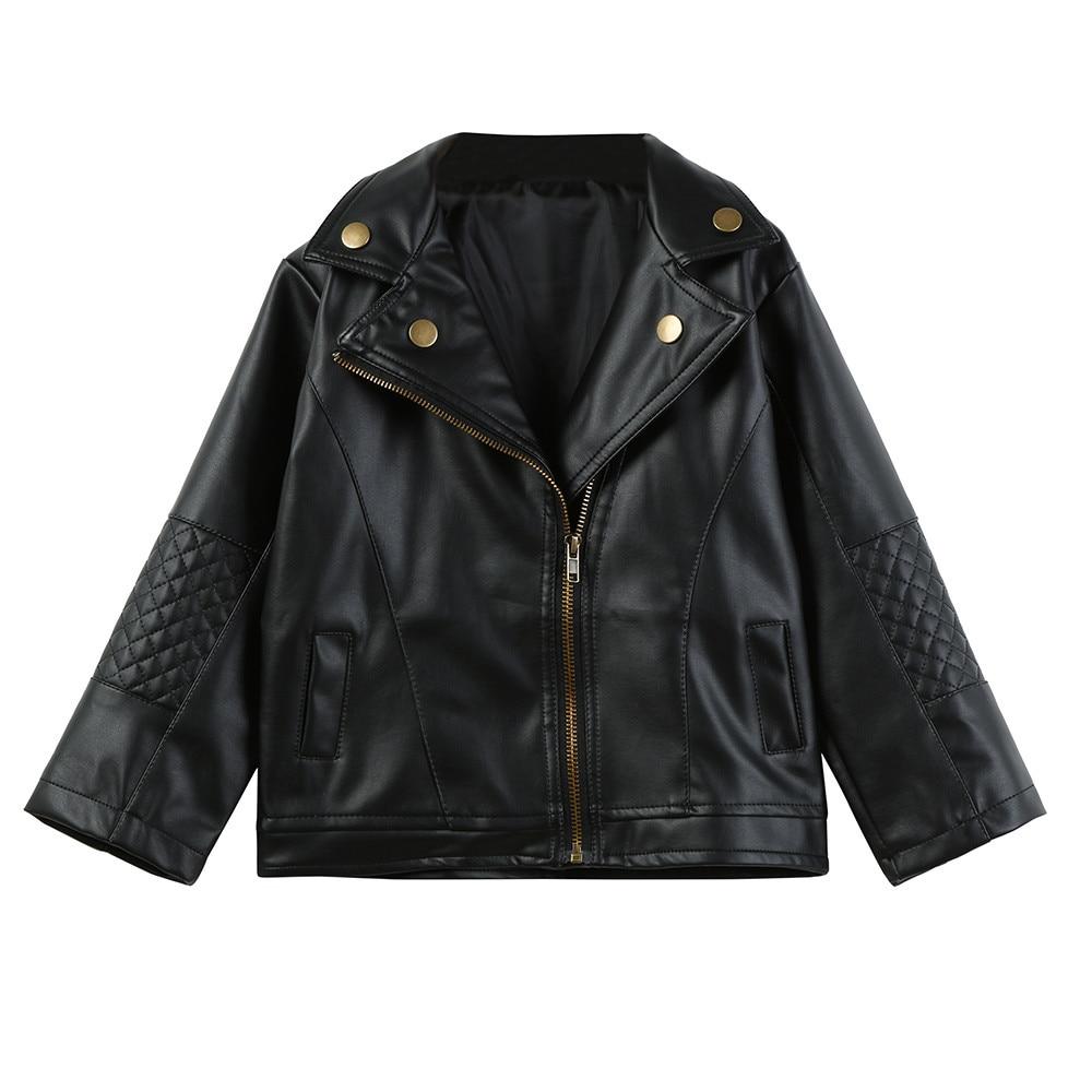 TELOTUNY Jacket Girls Coat Autumn Boys Winter Fashion Street Cool Short X083