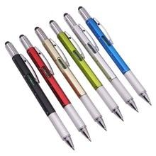 50 個多機能ボールペンレベル定規ドライバー文具ペン良い商品は安くはない青