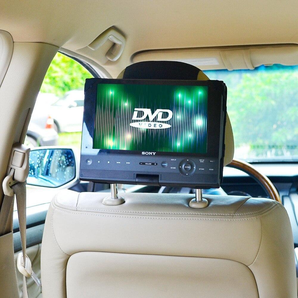 bilder für Tfy auto kopfstütze halterung für swivel und flip tragbare dvd player-10 zoll (nicht einschließlich der dvd-player)