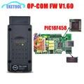 Последним OPCOM Прошивки V1.60 Лучший PIC18F458 + FT232 Чип Opel OP COM Новые SW 2010.08 Op-com Работает/Saab Инструмент OBD2 Сканер