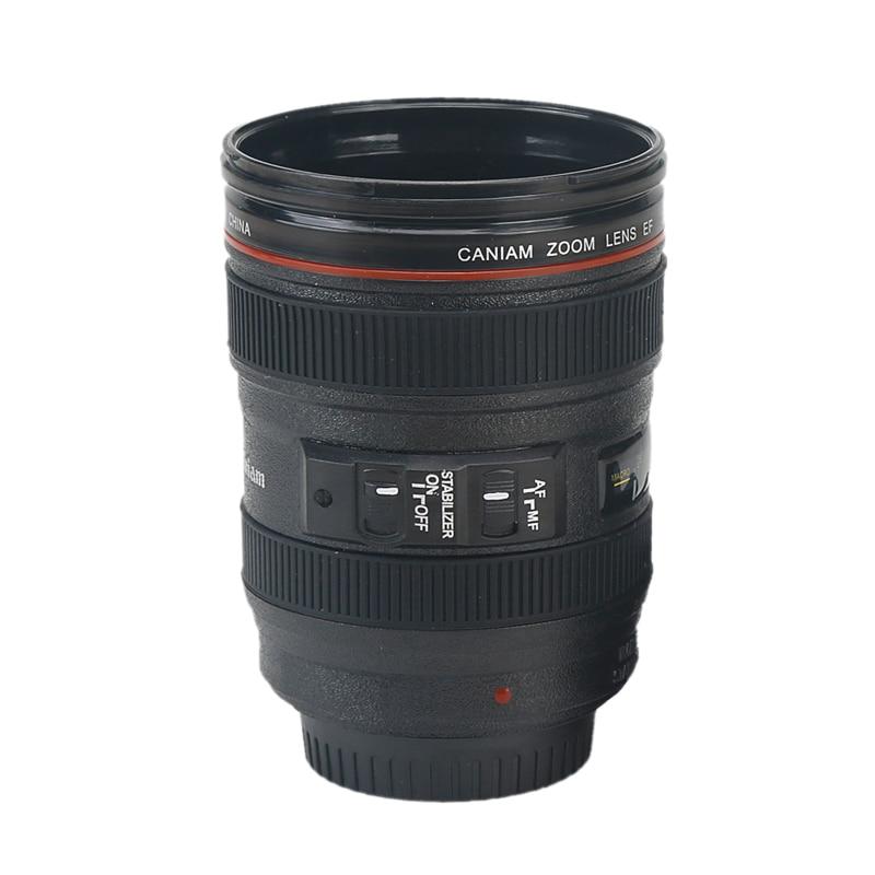 кружка в виде объектива фотокамеры платьях