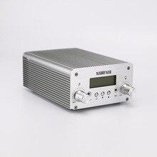 Livraison Gratuite NIOFRNIO NIO-T6A 1 w/6 w Mini Puissance Émetteur Stéréo PLL Mini Station de Radio Diffusion avec LCD affichage