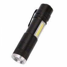 LED Pen Lights Portable Mini LED Flashlight Torch XPE-R3+COB