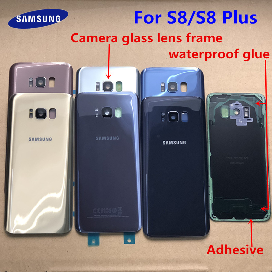 Hot Sale] Original SAMSUNG Galaxy S8 G950F Glass Back