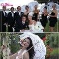 Mulheres Sol Guarda-sóis Guarda-chuva Do Vintage Feitos À Mão bordado Cotton Lace Parasol Nupcial Do Casamento Do Partido Decoração Suprimentos Venda Quente