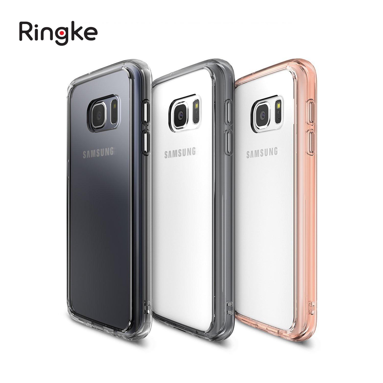 imágenes para Ringke Fusión Caso Para Galaxy S7 Capa con Duro Claro PC Panel trasero Marco de TPU Suave Protección de La Cubierta Híbrida para Samsung Galaxy S7