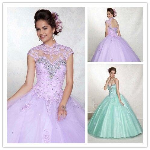 Aliexpress.com : Buy Light Purple Quinceanera Dresses Ball Gowns ...