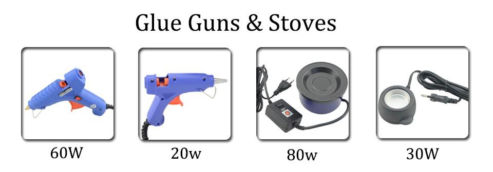 China Hot Glue Pot Suppliers Originea 102 EU/UK/US plug 80W Hot Glue Pot Glue Stove With Temperature Control High Power Keratin Glue Beads Use