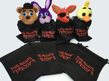 30Pcs Five Nights at Freddy's Party GIFT CANDY GOODY BAGS NYLON Freddy FNAF BAG five nights at freddy figure Non-woven Bag(China)