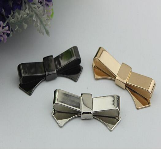 Free shipping (6 PCS/lot) 3 colors high quality beautiful bow sandal shoes button clip DIY manual metal Shoe Decorations 20pcs lot free shipping 5 design diy hair accessory bow flowers pearl buttons alloy rhinestone button bt05
