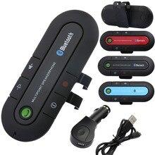 Bluetooth Car Kit Manos Libres Bluetooth MP3 Del Coche Delgada Clip Del Visor Altavoz 4.1 Dual USB Car Charger Kit Bluetooth Aux