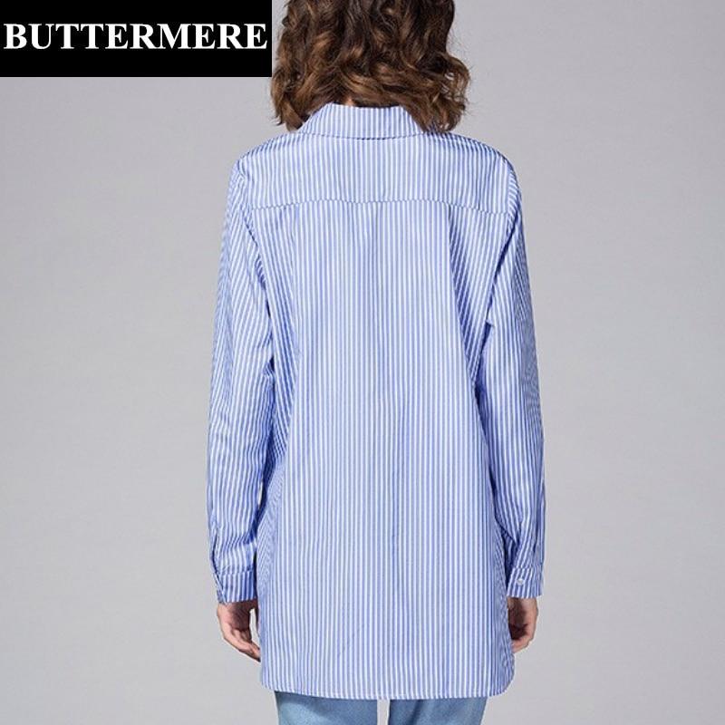BUTTERMERE Brand Tøj Plus Størrelse Kvinder Hvid Bluse 4XL 5XL Stor - Dametøj - Foto 3