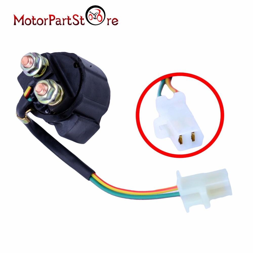 Motorcycle Electrical Starter Solenoid Relay Switches For YAMAHA TERRA PRO 350 YFP350U / TIMBERWOLF 250 YFB250 / TRAILWAY TW200