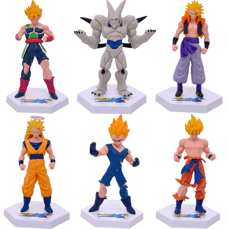 Dragon Ball Z Super Saiyan Goku Vegeta PVC Action Figure Anime Collection Model