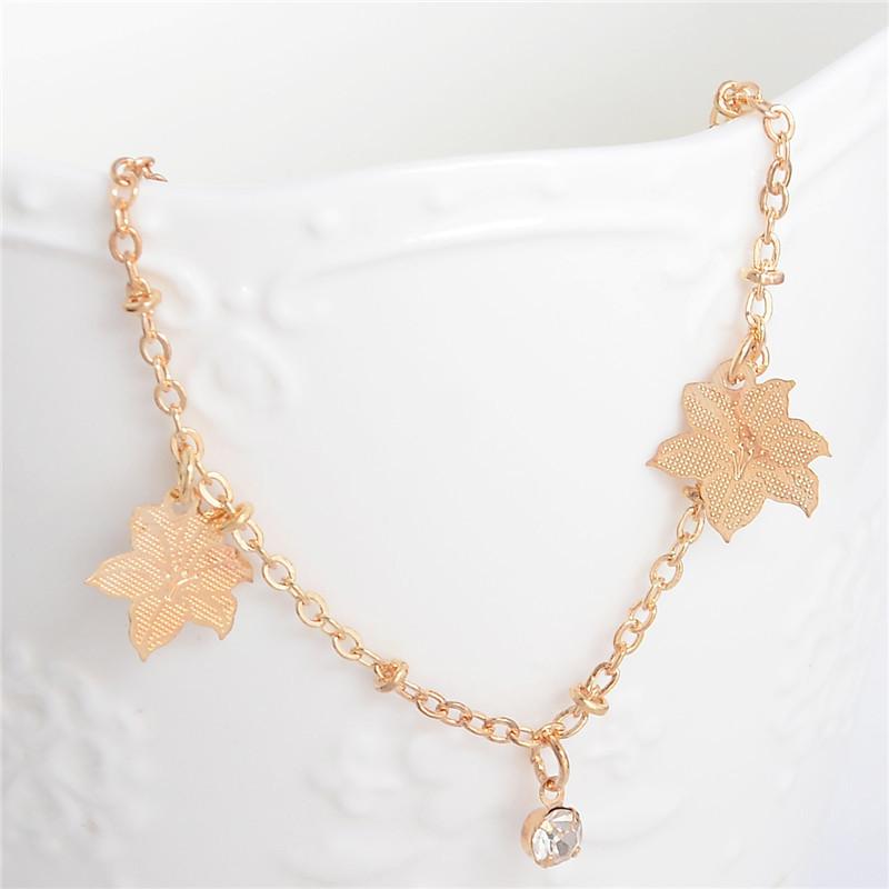 HTB1Qv0lLpXXXXaHapXXq6xXFXXX4 Golden Foot Chain Jewelry Spirituality Ankle Bracelet For Women - 5 Styles