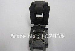100% NEW  FPQ-44-0.8 QFP44 TQFP44 IC Test Socket / Programmer Adapter / Burn-in Socket  (FPQ-44-0.8-17) 44%