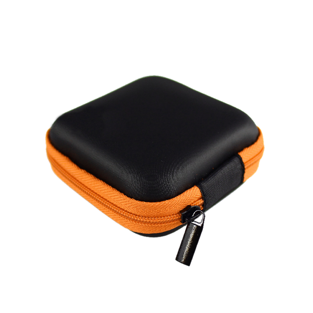 Multifunction design <font><b>6</b></font> colors EVA receive package <font><b>cell</b></font> <font><b>phone</b></font> headset Bluetooth headset cable receive storage bag