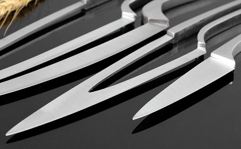 Set 4 pz coltelli Da Cucina In acciaio inox 1