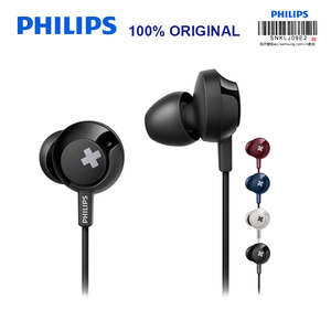 Philips SHE4305 3.5mm In-Ear Earphone with Noise Canceling Stereo Bass Headset for Xiaomi Official test