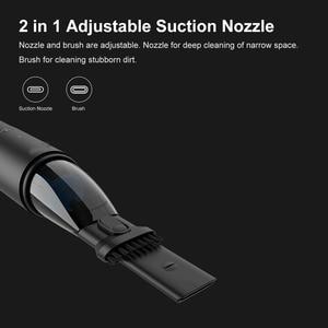 Image 3 - оригинал Xiaomi Cleanfly автомобильный пылесос 12V 2A портативный беспроводной Пылесос Мокрый и сухой  автомобиль ПылесосС автомобильной зарядкой Светодиодный свет