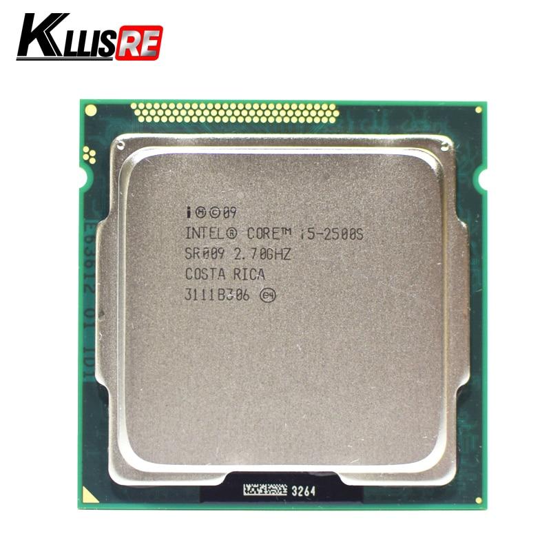 Intel Core i5 2500S 2 7GHz Quad Core 6M 5GT s Processor SR009 Socket 1155 cpu