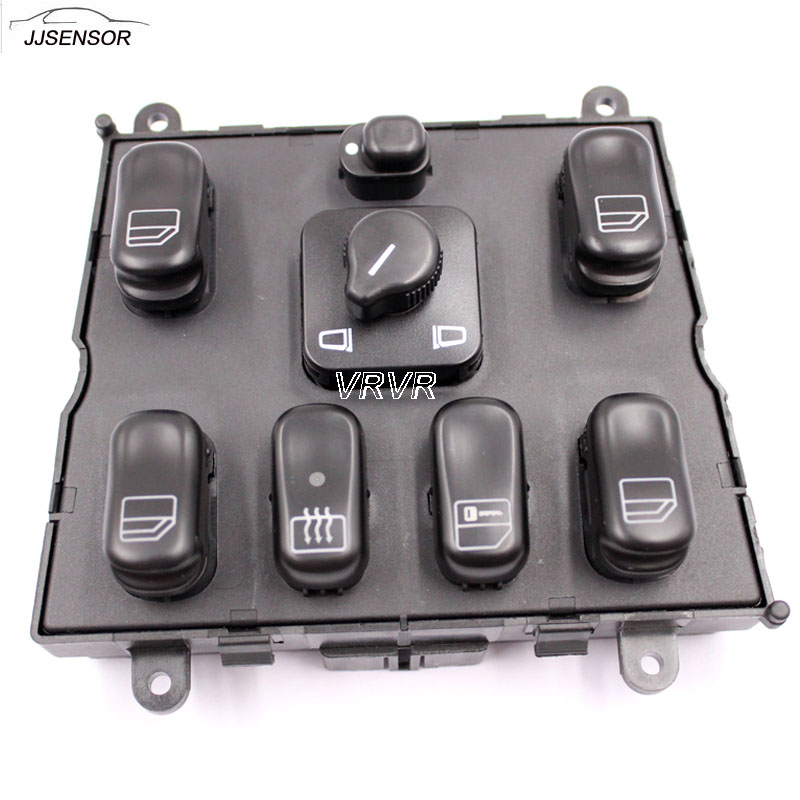 High quality new power window switch for mercedes ml w163 for 1999 mercedes ml320 window switch